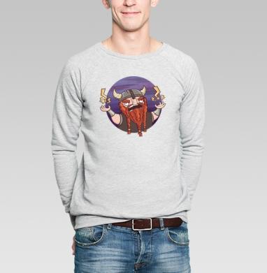 Суровый бородач - Купить мужские свитшоты с бородой в Москве, цена мужских свитшотов с бородой  с прикольными принтами - магазин дизайнерской одежды MaryJane