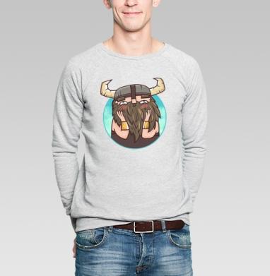 Застенчивый бородач - Купить мужские свитшоты со смайлами в Москве, цена мужских  со смайлами с прикольными принтами - магазин дизайнерской одежды MaryJane