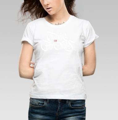 Game of Thrones - Купить детские футболки с играми в Москве, цена детских футболок с играми  с прикольными принтами - магазин дизайнерской одежды MaryJane