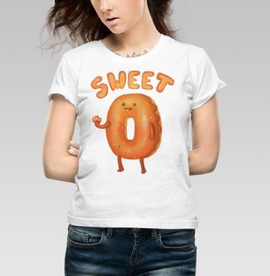 Любитель пончиков - Купить детские футболки с едой в Москве, цена детских футболок с едой  с прикольными принтами - магазин дизайнерской одежды MaryJane