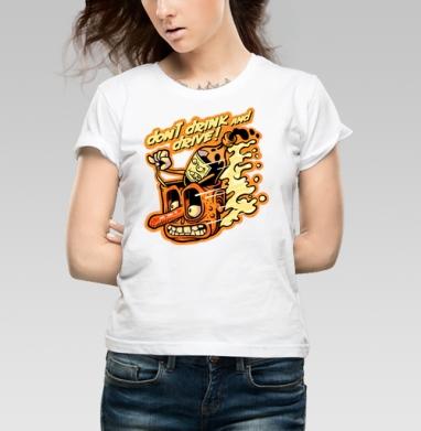 Стикерсссс - Купить детские футболки алкоголь в Москве, цена детских футболок с алкоголем с прикольными принтами - магазин дизайнерской одежды MaryJane