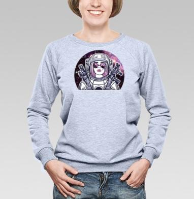 Космическая девушка - Свитшоты женские