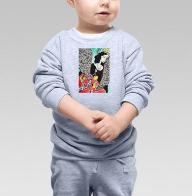 Птица сирен, Cвитшот Детский серый меланж