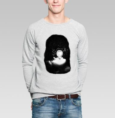 Внутренний космос - Купить мужские свитшоты с космосом в Москве, цена мужских  с космосом  с прикольными принтами - магазин дизайнерской одежды MaryJane
