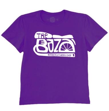Футболка мужская темно-фиолетовая - ЗЕ БАЗА 2