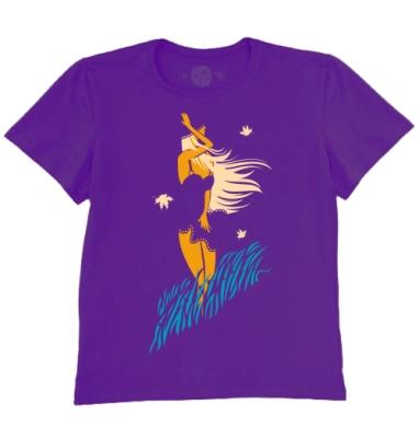 Футболка мужская темно-фиолетовая - Бархатный сезон