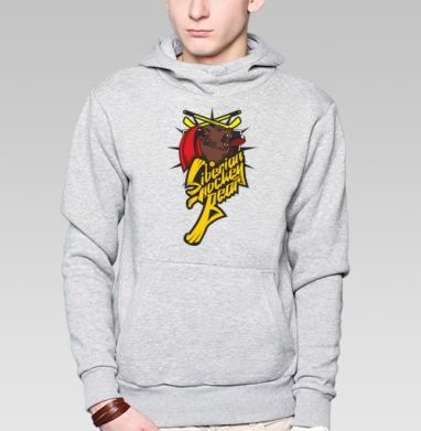 Желтый хоккейный медведь - Толстовки под заказ
