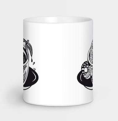 Русалка в чашке, Кружка