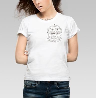Bicicleta club - Купить детские футболки с велосипедом в Москве, цена детских футболок с велосипедом с прикольными принтами - магазин дизайнерской одежды MaryJane