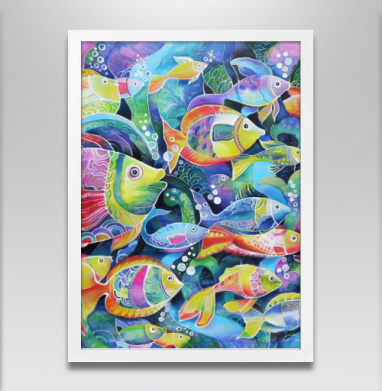 Рыбки - Постеры, узор, Популярные