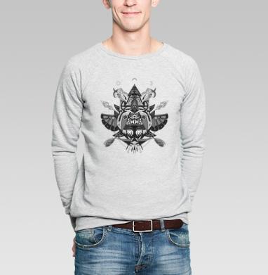 Фантасмагория - Купить мужские свитшоты с индейцами в Москве, цена мужских  с индейцами  с прикольными принтами - магазин дизайнерской одежды MaryJane