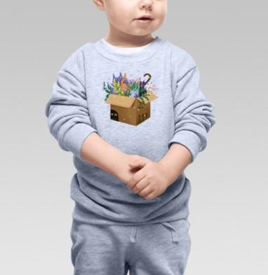 Доставка котов - Купить детские свитшоты с кошками в Москве, цена детских свитшотов с кошками  с прикольными принтами - магазин дизайнерской одежды MaryJane