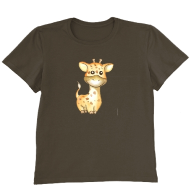 Футболка мужская коричневая, коричневый - Интернет магазин футболок №1 в Москве
