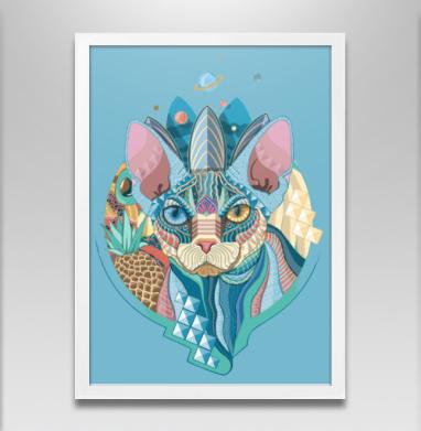 Немного Мехикано Космо котЭ  - Постеры, кошка, Популярные