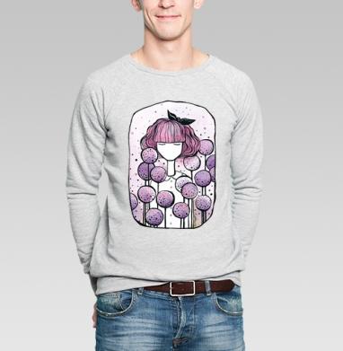 Дикий лук - Купить мужские свитшоты с природой в Москве, цена мужских свитшотов с природой  с прикольными принтами - магазин дизайнерской одежды MaryJane