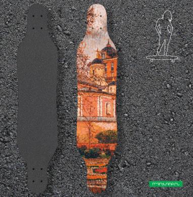 Храм священномученика Антипы - Наклейки на лонгборд