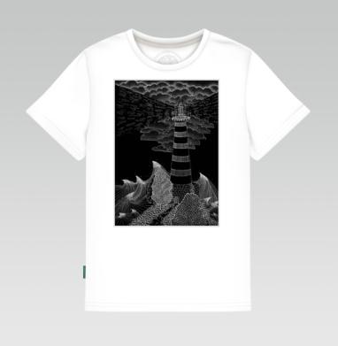 Маяк бури, Детская футболка белая 160гр