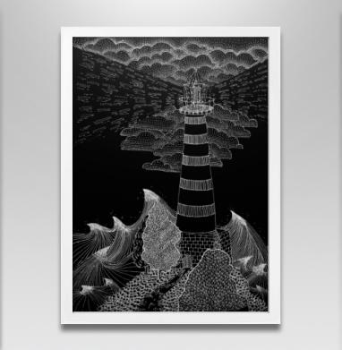Маяк бури - Постеры, графика, Популярные