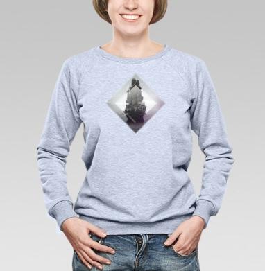 Кристальная скала - Купить детские свитшоты с горами в Москве, цена детских свитшотов с горами с прикольными принтами - магазин дизайнерской одежды MaryJane