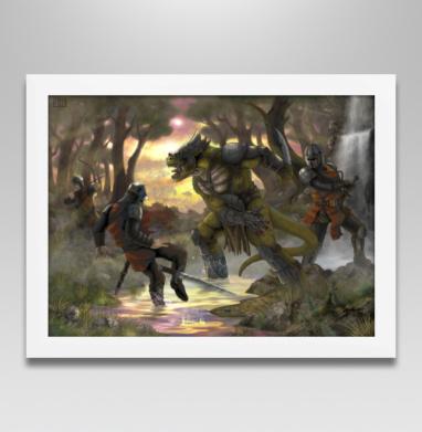 Битва - Постеры, индеец, Популярные