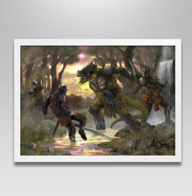 Битва - Постеры