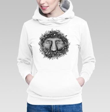 Толстовка Женская белая, белый - Интернет магазин футболок №1 в Москве