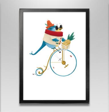 Велосипедист Робин - Постеры, Фрукты