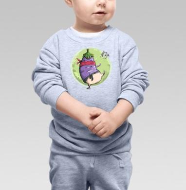 Баклажан Н - Купить детские свитшоты АК-47 в Москве, цена детских свитшотов автомат Калашникова  с прикольными принтами - магазин дизайнерской одежды MaryJane