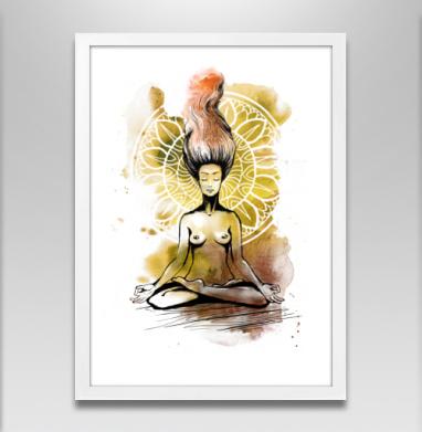 Медитация. Лотос - Постеры, велосипед, Популярные