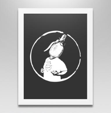 ЦДА, Постер в белой раме