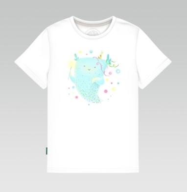 Дух праздника, Детская футболка белая 160гр