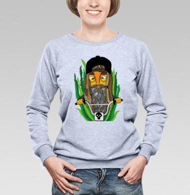 К мечте - Купить женские свитшоты с природой в Москве, цена женских свитшотов с природой  с прикольными принтами - магазин дизайнерской одежды MaryJane
