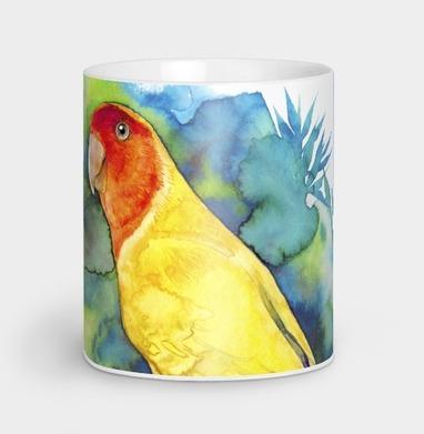 Розовощекий попугайчик - природа, Новинки