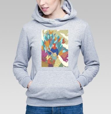 Девушка и укулеле   - Купить детские толстовки нежность в Москве, цена детских толстовок нежность  с прикольными принтами - магазин дизайнерской одежды MaryJane