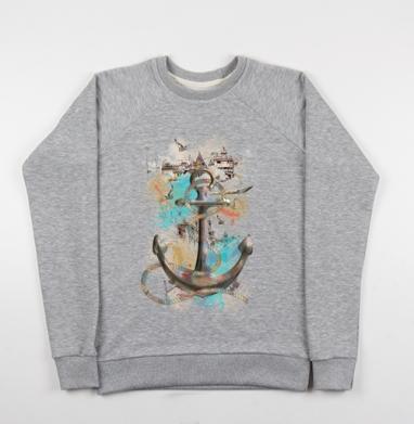 Морской волк - Купить мужские свитшоты морские  в Москве, цена мужских свитшотов морских   с прикольными принтами - магазин дизайнерской одежды MaryJane