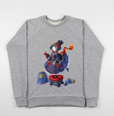Блу Лолли Принцесса  - Купить детские свитшоты милые в Москве, цена детских свитшотов милых  с прикольными принтами - магазин дизайнерской одежды MaryJane