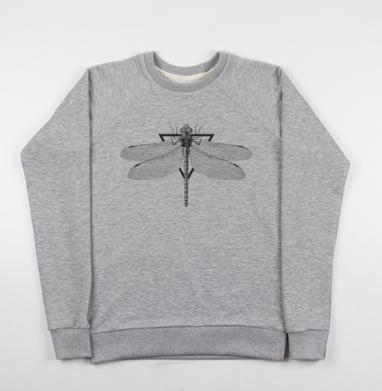 Большое коромысло - Купить детские свитшоты с насекомыми в Москве, цена детских свитшотов с насекомыми  с прикольными принтами - магазин дизайнерской одежды MaryJane