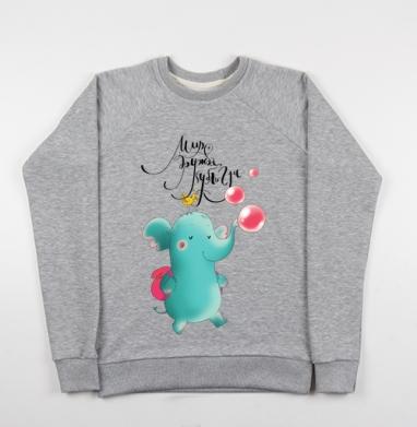 Бубль-гум - Купить детские свитшоты с птицами в Москве, цена детских свитшотов с птицами  с прикольными принтами - магазин дизайнерской одежды MaryJane