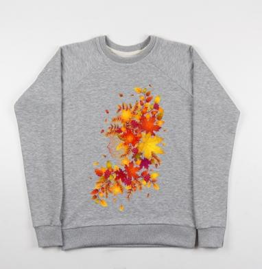 Дух осени - Купить детские свитшоты с природой в Москве, цена детских свитшотов с природой  с прикольными принтами - магазин дизайнерской одежды MaryJane