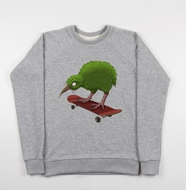Киви - Купить детские свитшоты с птицами в Москве, цена детских свитшотов с птицами  с прикольными принтами - магазин дизайнерской одежды MaryJane