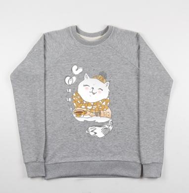 Кофейное настроение  - Купить детские свитшоты милые в Москве, цена детских свитшотов милых  с прикольными принтами - магазин дизайнерской одежды MaryJane
