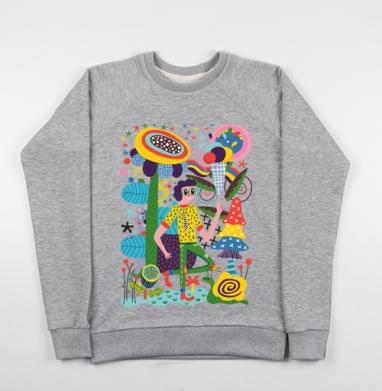 Л-Е-Т-О - Купить детские свитшоты с насекомыми в Москве, цена детских свитшотов с насекомыми  с прикольными принтами - магазин дизайнерской одежды MaryJane