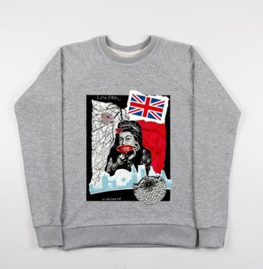 LONDONQUEEN - Купить детские свитшоты модные в Москве, цена детских свитшотов модных  с прикольными принтами - магазин дизайнерской одежды MaryJane