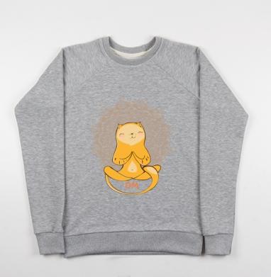 Ом.. - Купить детские свитшоты с йогой в Москве, цена детских свитшотов с йогой  с прикольными принтами - магазин дизайнерской одежды MaryJane