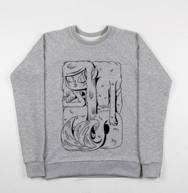 Прелестная Русалка - Купить детские свитшоты с людьми в Москве, цена детских свитшотов с людьми  с прикольными принтами - магазин дизайнерской одежды MaryJane