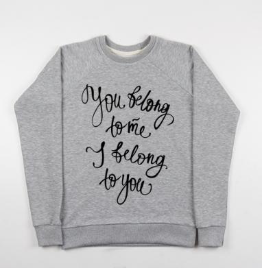 Принадлежать - Купить детские свитшоты романтика в Москве, цена детских свитшотов романтических  с прикольными принтами - магазин дизайнерской одежды MaryJane