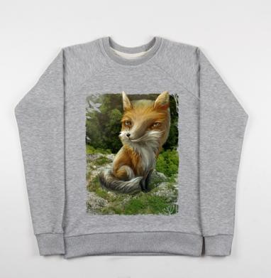 Рыжий - Купить детские свитшоты с животными в Москве, цена детских свитшотов с животными  с прикольными принтами - магазин дизайнерской одежды MaryJane