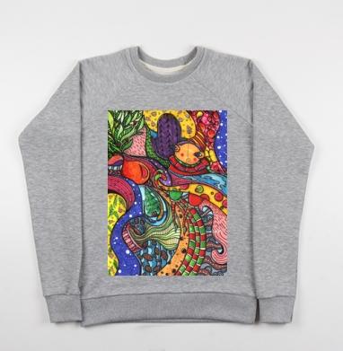 Волны зимы  - Купить детские свитшоты с городами в Москве, цена детских свитшотов с городами  с прикольными принтами - магазин дизайнерской одежды MaryJane