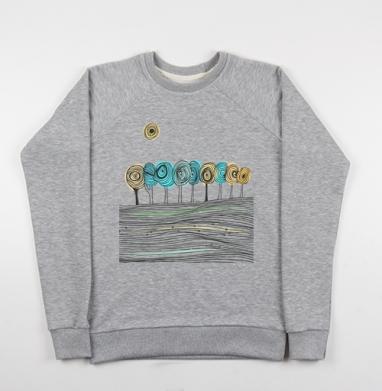 Деревья. графика - Купить детские свитшоты с деревьями в Москве, цена детских свитшотов с деревьями  с прикольными принтами - магазин дизайнерской одежды MaryJane