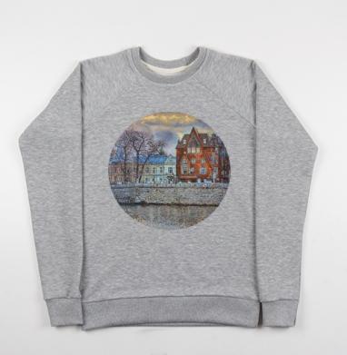 Дом Перцовой - Купить детские свитшоты Пейзаж в Москве, цена детских свитшотов с пейзажем с прикольными принтами - магазин дизайнерской одежды MaryJane